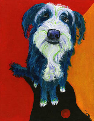 Painting - Sam by Debbie Brown