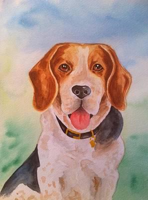 Painting - Sam by Stephanie Reid