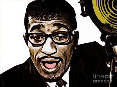 Motown Digital Art - Sammy Davis Jr by The DigArtisT