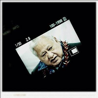 Politicians Wall Art - Photograph - Samoan Prime Minister #fuda #fairfax by Luke Fuda