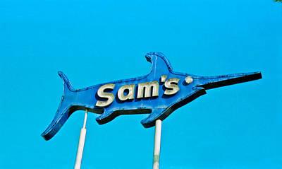 Sam's Art Print by Matthew Bamberg
