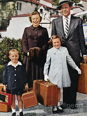 Greyhound Photograph - Samsonite Ad, 1956 by Granger