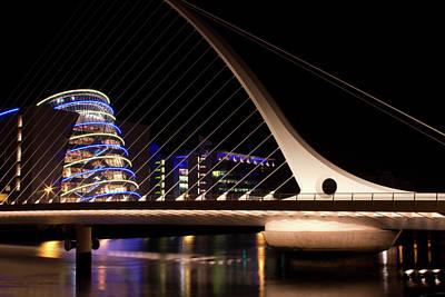 Samuel Beckett Bridge Of Dublin Art Print