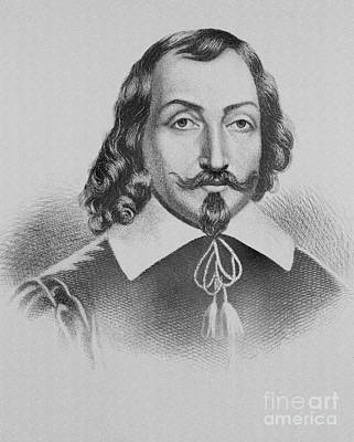 Samuel De Champlain Art Print by Photo Researchers