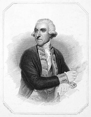 Samuel Hood (1724-1816) Art Print
