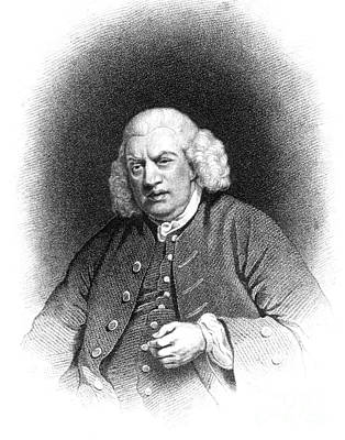 Dictionary Photograph - Samuel Johnson, English Author by Photo Researchers