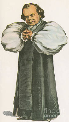 Samuel Wilberforce, Anglican Bishop Art Print