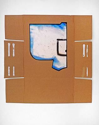 Cardboard Painting - Samurai by Charles Stuart