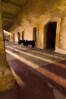 San Cristobal Shadows Art Print by Sven Brogren