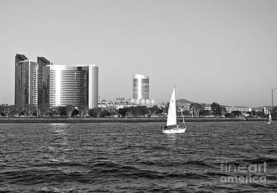 Photograph - San Diego Bay by Carol  Bradley