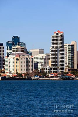 San Diego Buildings Photo Print by Paul Velgos