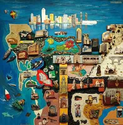 Painting - San Diego by Robert Handler