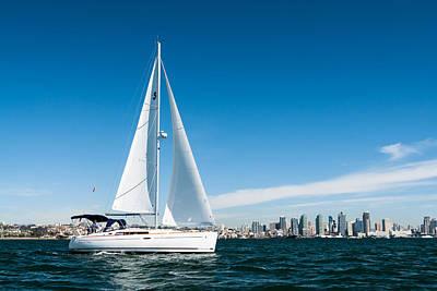 Whalen Photograph - San Diego Sailboat Three by Josh Whalen