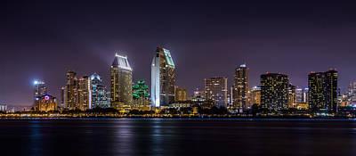 Photograph - San Diego Skyline by Alexander Kunz