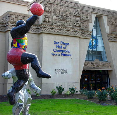 Photograph - San Diego Sports Museum by Jeff Lowe