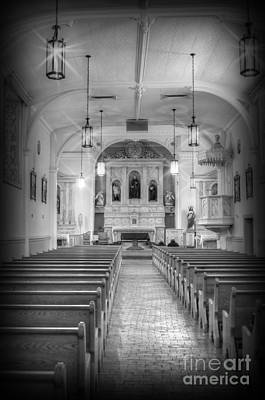 Photograph - San Felipe De Neri Church by Donna Greene