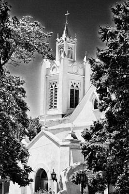 Photograph - San Felipe De Neri Parish - Infrared by Bill Barber