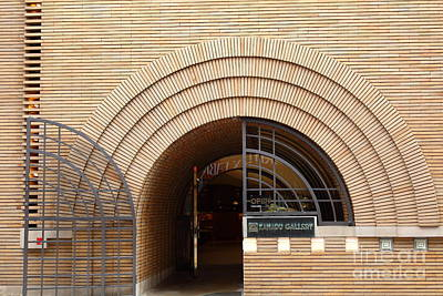 San Francisco - Maiden Lane - Xanadu Gallery - Frank Lloyd Architecture - 5d17794 Art Print by Wingsdomain Art and Photography