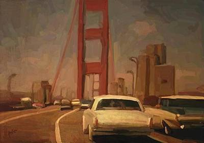 Impressionism Painting - San Francisco 1965 by Nop Briex