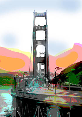 San Francisco Bay Bridge Art Print by Charles Shoup