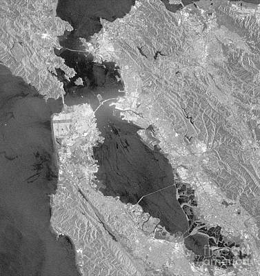 Wildlife Disasters Photograph - San Francisco Bay Oil Spill by Nasa