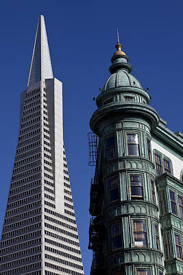 San Francisco Buildings Art Print by Garry Gay