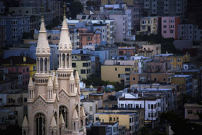 Photograph - San Francisco Cathedral by Anthony Citro