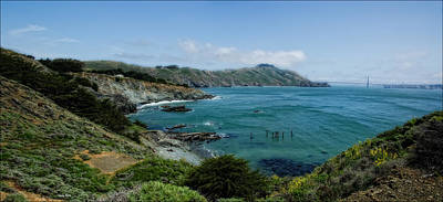 Photograph - San Francisco Coast Line by Gary Rose