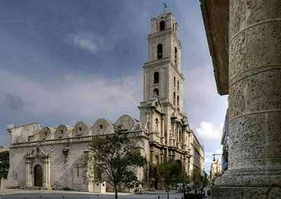 Photograph - San Francisco De Asis Abbey. Havana. Cuba by Juan Carlos Ferro Duque