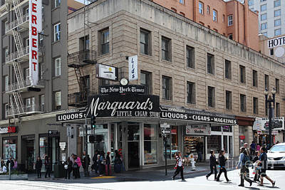 San Francisco Marquards Little Cigar Store Powell Street - 5d17950 Art Print
