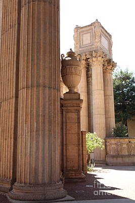 Architecture Photograph - San Francisco Palace Of Fine Arts - 5d18136 by Wingsdomain Art and Photography