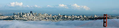 Photograph - San Francisco Panoramic Shot by Jeff Lowe