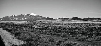 San Francisco Peaks Art Print by Gilbert Artiaga