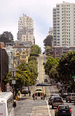 Photograph - San Francisco Streets by Gary Rose
