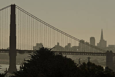 Photograph - San Francisco Sunrise by Wes and Dotty Weber