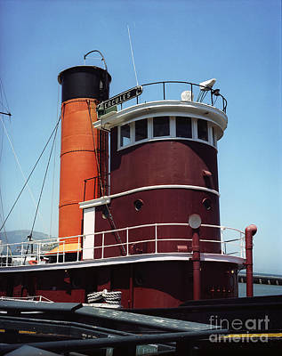 Photograph - San Francisco Tug Boat by Jim And Emily Bush