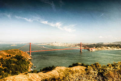 Photograph - San Francisco's Golden Gate Bridge by Natasha Bishop