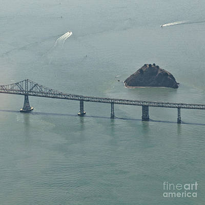 San Franciscos Richmond-san Rafael Bridge Art Print