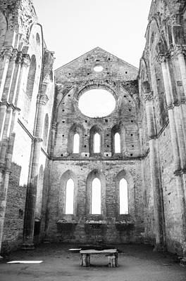 San Galgano Abbey Art Print by Ralf Kaiser