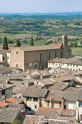 San Gimignano Art Print by Rob Tilley
