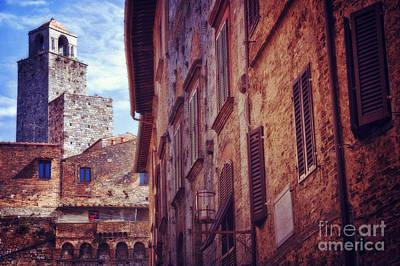 Photograph - San Gimignano Tuscany by Silvia Ganora