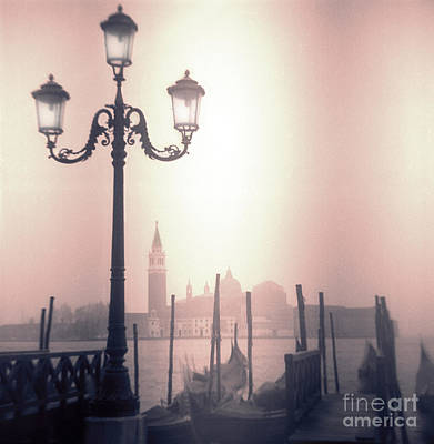 San Giorgio Maggiore Seen From Venice  Art Print by Janeen Wassink Searles