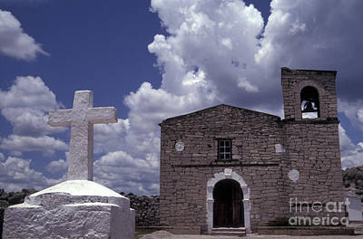 Photograph - San Ignacio Church Copper Canyon Mexico by John  Mitchell