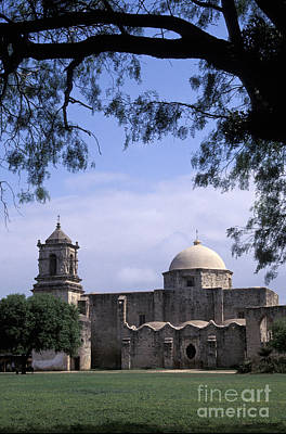 Photograph - San Jose Mission San Antonio Texas by John  Mitchell