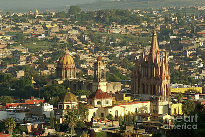 Photograph - San Miguel De Allende Mexico by John  Mitchell