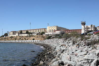 San Quentin State Prison In California - 5d18454 Art Print by Wingsdomain Art and Photography