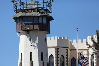 San Quentin State Prison In California - 5d18467 Art Print by Wingsdomain Art and Photography