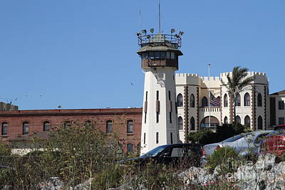 San Quentin State Prison In California - 7d18542 Art Print by Wingsdomain Art and Photography