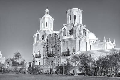 Photograph - San Xavier Del Bac Mission V by Clarence Holmes
