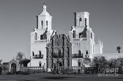 Photograph - San Xavier Del Bac Mission Vi by Clarence Holmes